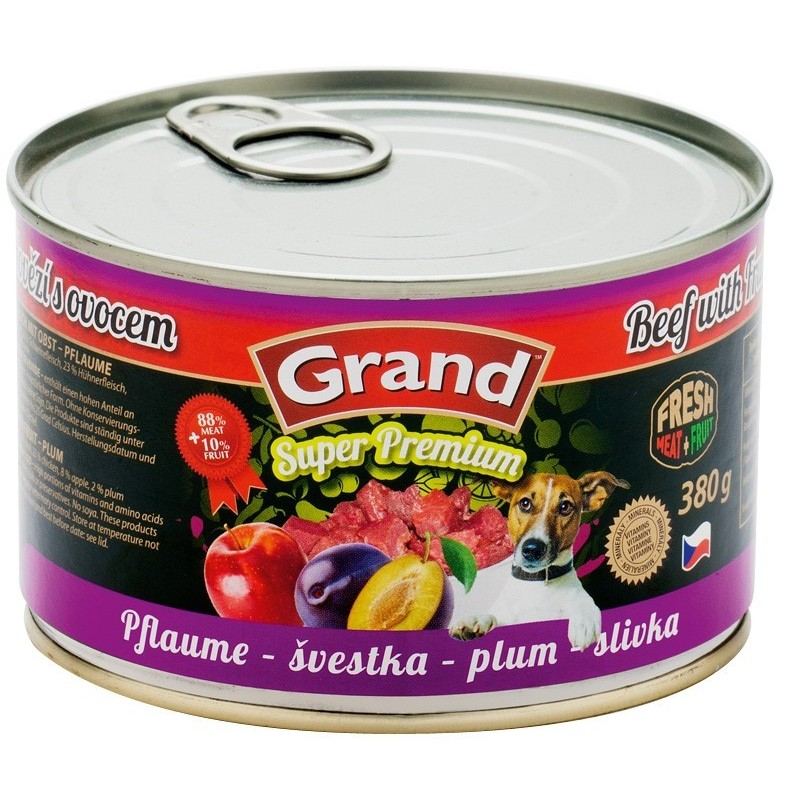 GRAND Boeuf Prune 12x380g