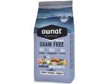 Ownat Grain Free Senior Chicken Turkey (14kg)