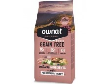 Ownat Grain Free Mini Chicken (le lot de 4 x 3kg soit 12kg)