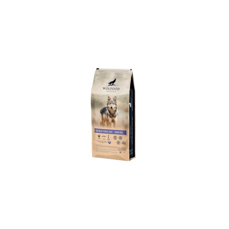 Wolfood high meat fitness light (12kg)
