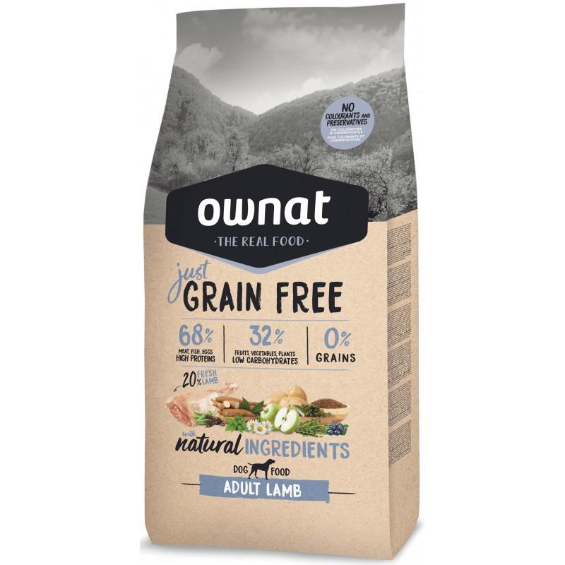 Just Grain Free Adult Lamb 14kg