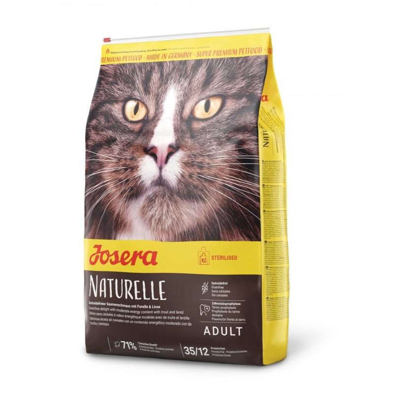 Naturelle sterilized cat 10kg