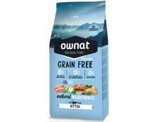Ownat Kitten Grain Free (3 sacs de 3kg soit 9kg)