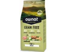 Ownat Chat Adult Grain free (sac de 3kg ou 8kg)