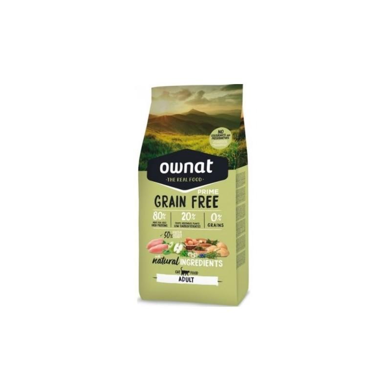Ownat Chat Adult Grain free (sac de 3kg ou 8kg)