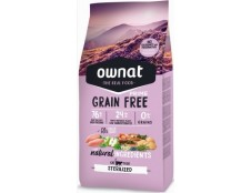 Ownat Chat Sterilized Grain Free (1 sac de 3kg ou de 8kg)